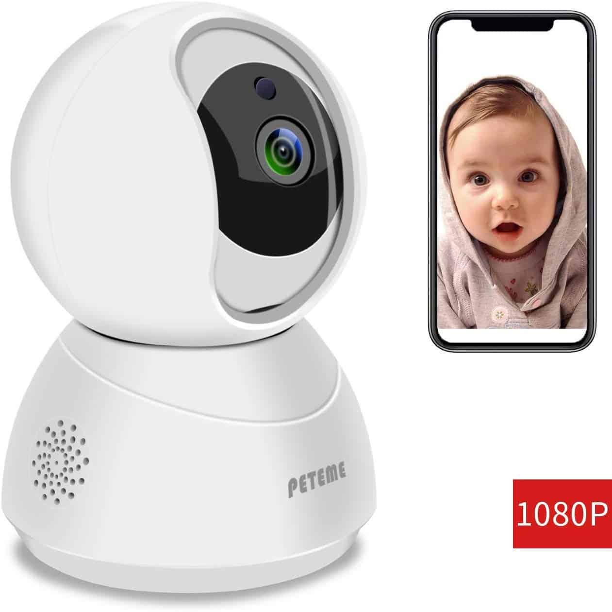 Peteme Video Baby Monitor System
