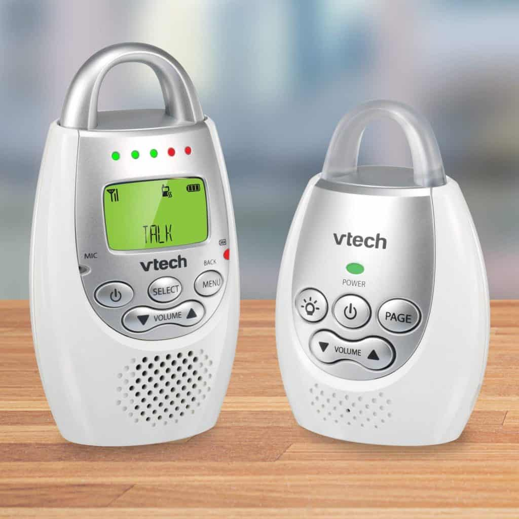 A review of the VTech audio only baby monitor.
