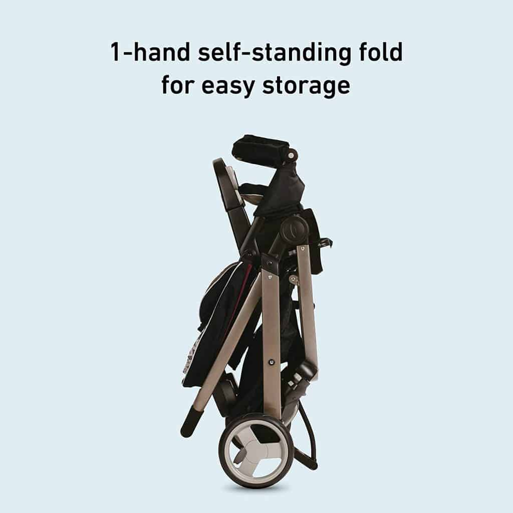 Craco Modes Stroller Easy Fold Up Storage System.