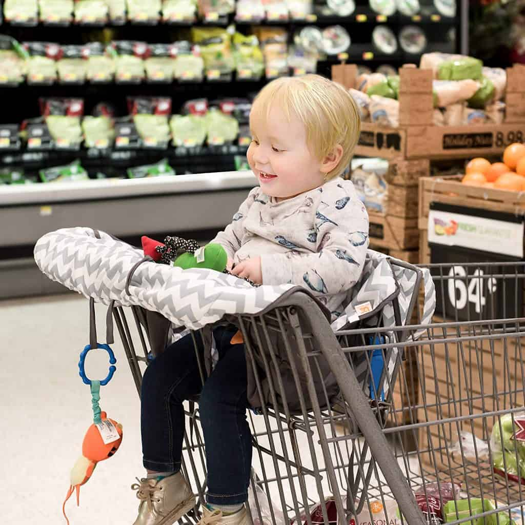 Shopping cart covers for babies.