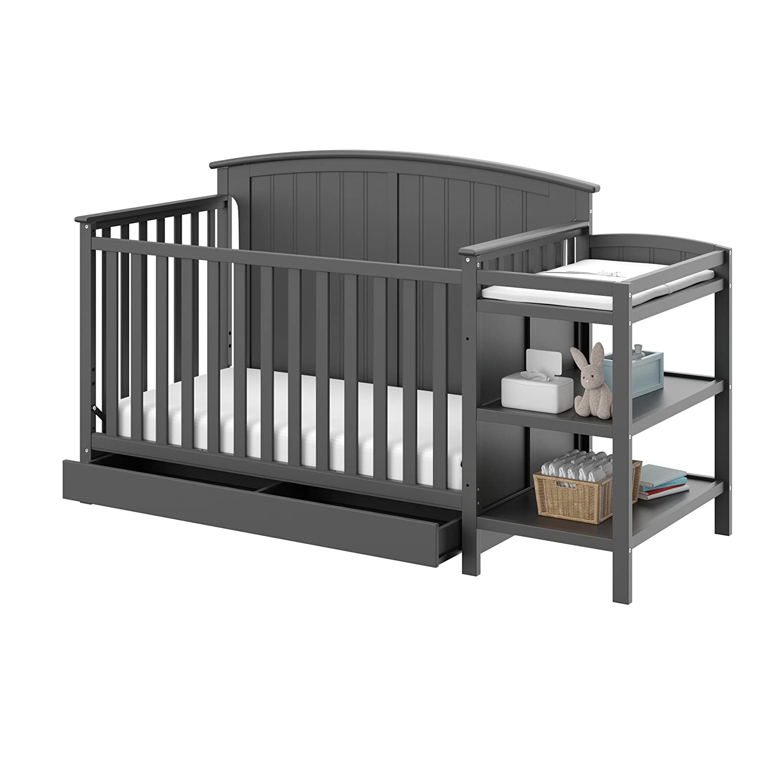 Storkcraft Steveston four in one Convertible Crib And Changer
