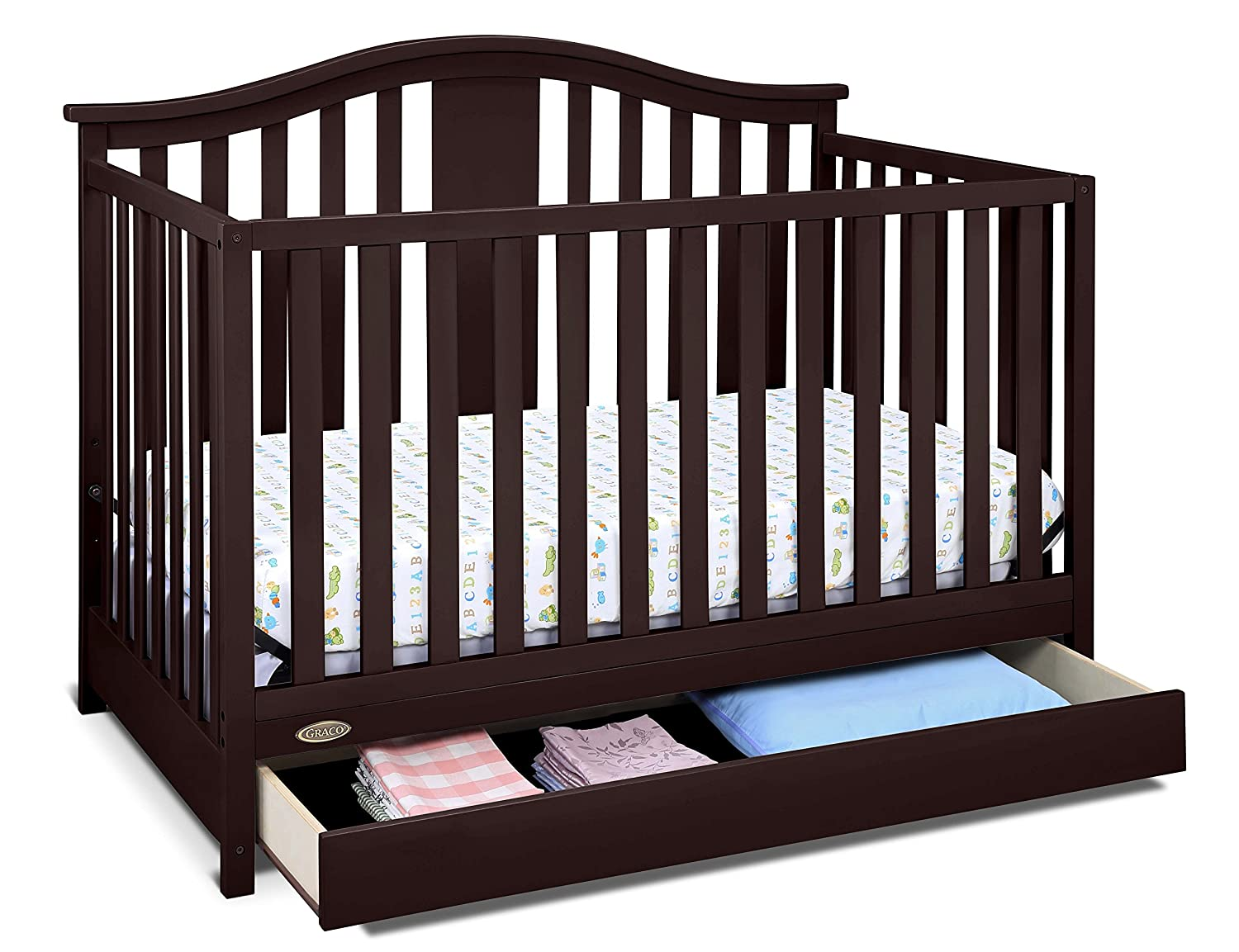 Storkcraft Graco Four In One Convertible Crib